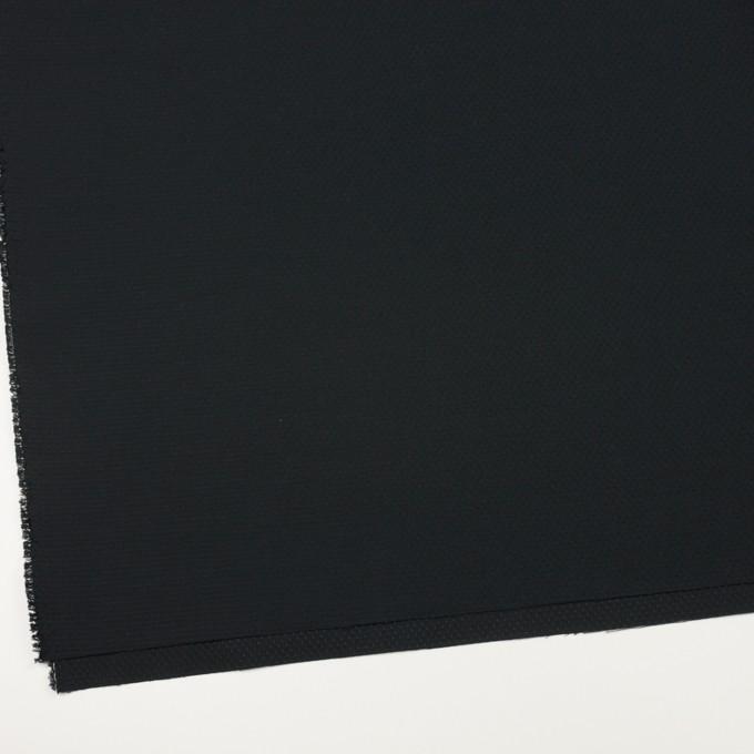 ポリエステル&コットン×クロス(ブラック)×シーチング・ドビー_全2色 イメージ2