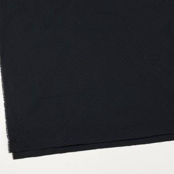 ポリエステル×小紋(ブラック)×形状記憶タフタドビー サムネイル2