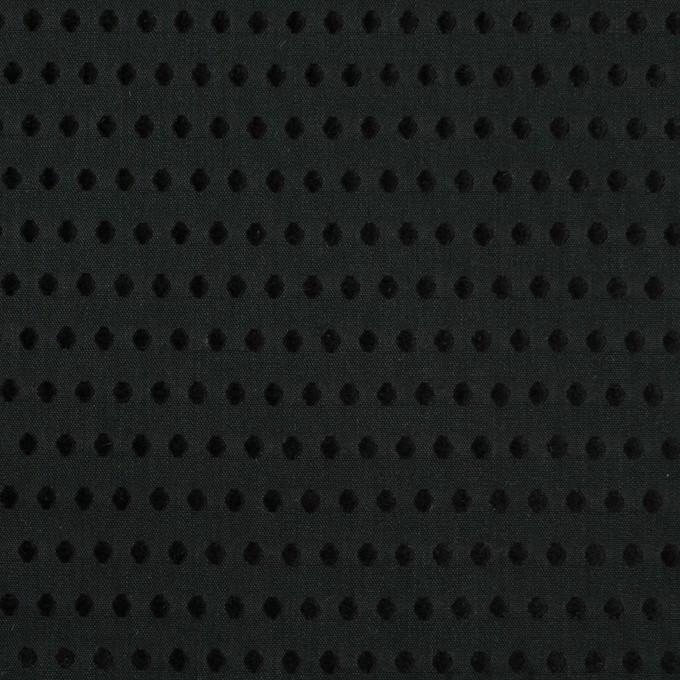 コットン×ドット(ブラック)×ローンドビー イメージ1