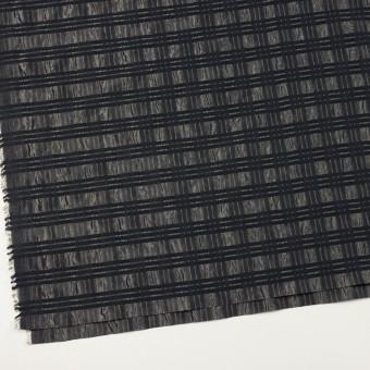 ポリエステル&ナイロン×ボーダー(メタル&ブラック)×タフタジャガード サムネイル2
