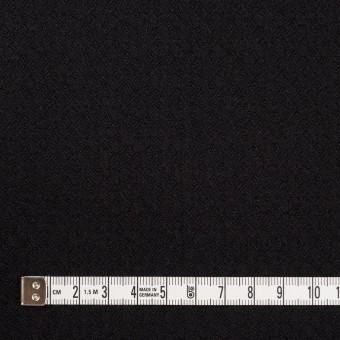 コットン&ポリエステル混×無地(ブラック)×ジャガード・ストレッチ サムネイル4