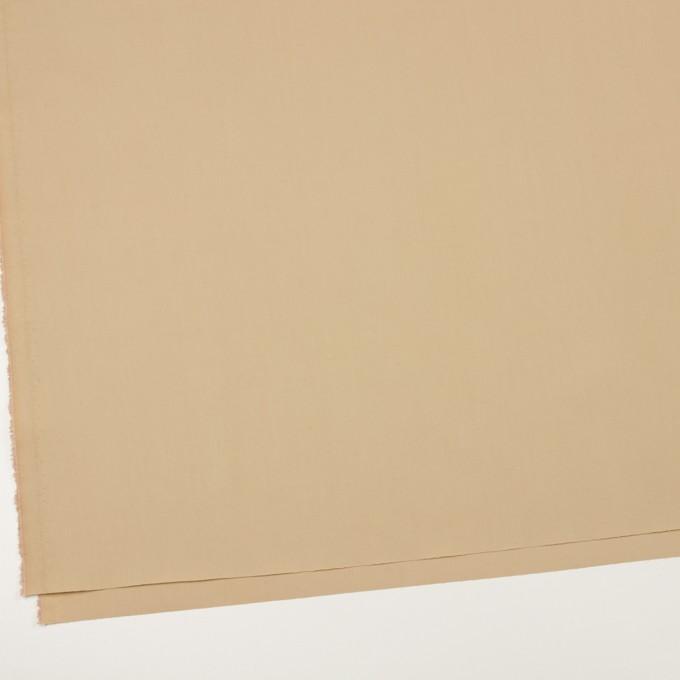 コットン&ナイロン混×無地(ベージュ)×ギャバジン_全4色 イメージ2