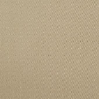 コットン&ナイロン混×無地(カーキ)×ギャバジン_全4色