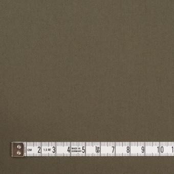 コットン&ナイロン混×無地(ダークカーキ)×ギャバジン_全4色 サムネイル4