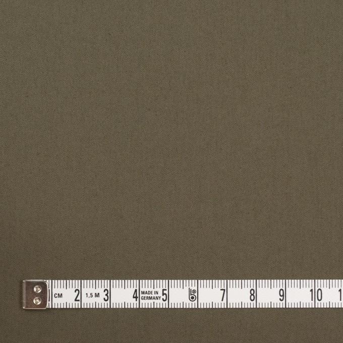 コットン&ナイロン混×無地(ダークカーキ)×ギャバジン_全4色 イメージ4