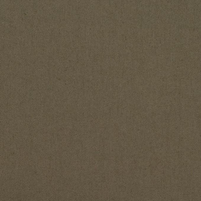 コットン&ナイロン混×無地(ダークカーキ)×ギャバジン_全4色 イメージ1
