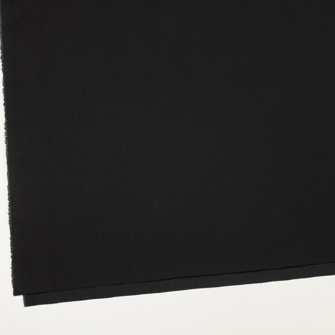コットン&ナイロン混×無地(ブラック)×ギャバジン_全4色 イメージ2
