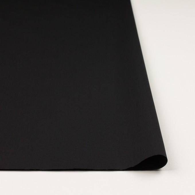 コットン&ナイロン混×無地(ブラック)×ギャバジン_全4色 イメージ3