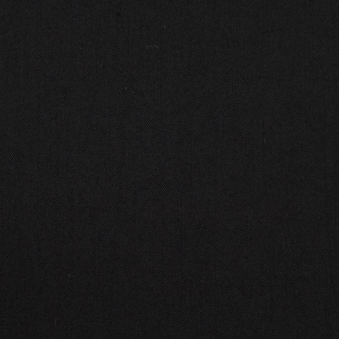 コットン&ナイロン混×無地(ブラック)×ギャバジン_全4色 イメージ1