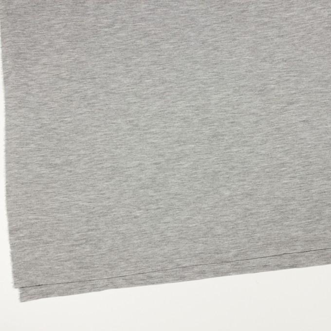 コットン&モダール×無地(シルバーグレー)×スムースニット イメージ2
