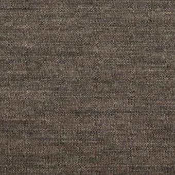 ウール&モダール×無地(モカブラウン&チャコールグレー)×W天竺ニット