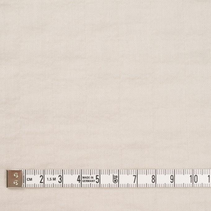 コットン&ポリウレタン×無地(アイボリー)×ヘリンボーン・シャーリング_全2色 イメージ4