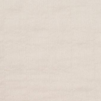 コットン&ポリウレタン×無地(アイボリー)×ヘリンボーン・シャーリング_全2色 サムネイル1