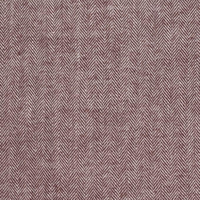 コットン&ポリウレタン×ミックス(エンジ)×ヘリンボーン・シャーリング_全3色 イメージ1