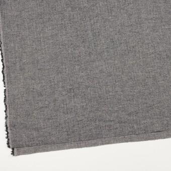 コットン&ポリウレタン×ミックス(ブラック)×ヘリンボーン・シャーリング_全3色 サムネイル2
