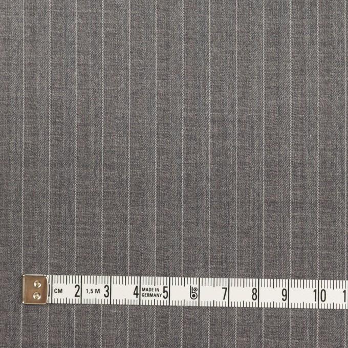 ポリエステル&レーヨン×ストライプ(グレー)×サージ&ポプリン_全2色 イメージ4