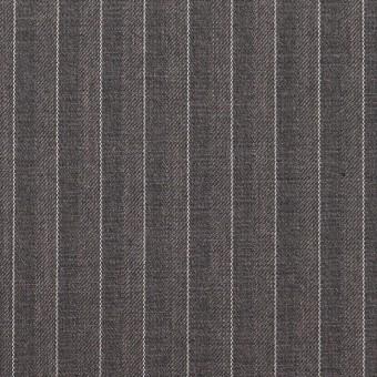 ポリエステル&レーヨン×ストライプ(チャコールグレー)×サージ&ポプリン_全2色