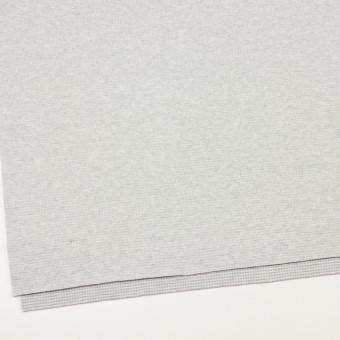 コットン×無地(ライトグレー)×Wニット_全2色 サムネイル2