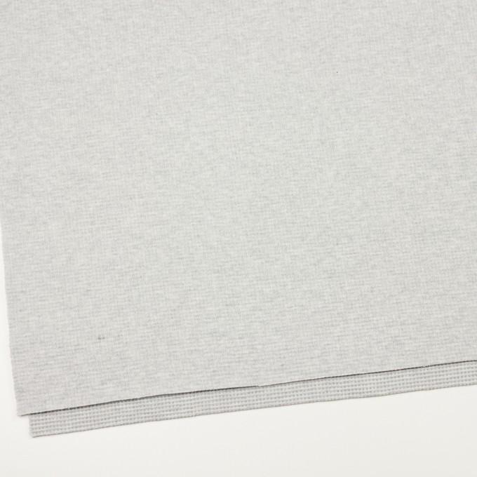 コットン×無地(ライトグレー)×Wニット_全2色 イメージ2