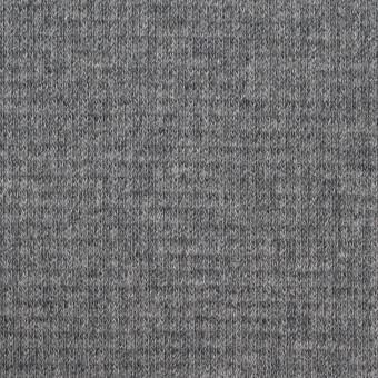 コットン×無地(チャコールグレー)×Wニット_全2色