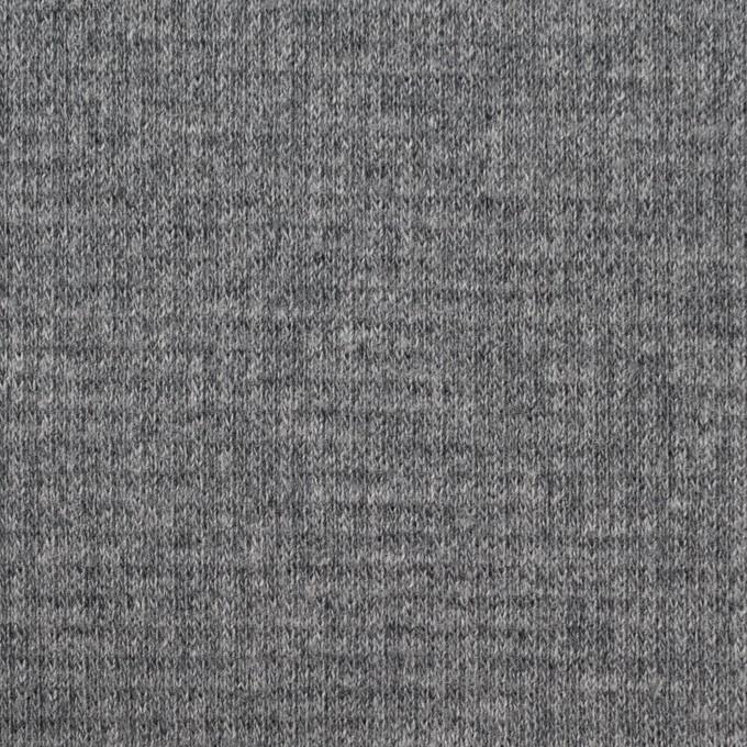コットン×無地(チャコールグレー)×Wニット_全2色 イメージ1