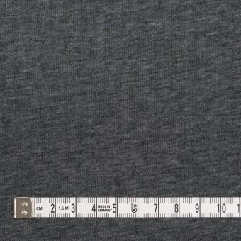 コットン&ポリウレタン×無地(グレー&チャコールグレー)×リブ&天竺ニット サムネイル6