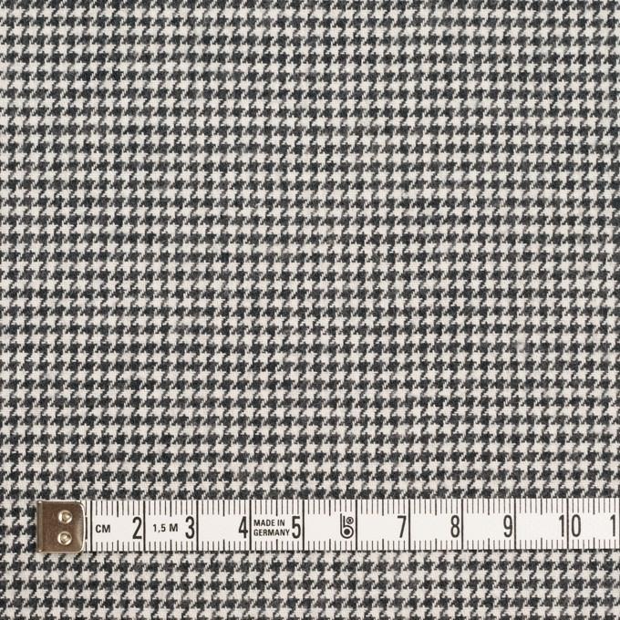 コットン×チェック(チャコール)×千鳥格子 イメージ4
