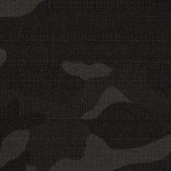 コットン&ポリウレタン×迷彩(チャコール)×ブッチャー・ストレッチ