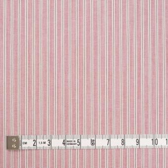コットン×ストライプ(ローズ)×かわり織 サムネイル4