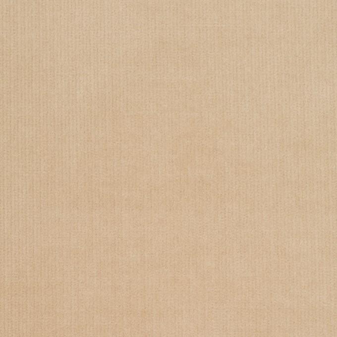 コットン&ポリウレタン×無地(ベージュ)×細コーデュロイ・ストレッチ_全5色 イメージ1