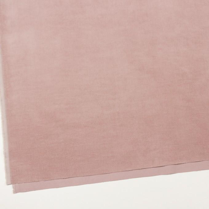 コットン&ポリウレタン×無地(グレイッシュピンク)×細コーデュロイ・ストレッチ_全5色 イメージ2