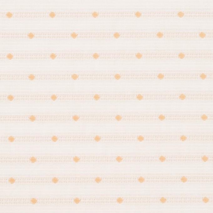 ポリエステル×ドット(オフホワイト)×形状記憶タフタドビー_全2色 イメージ1
