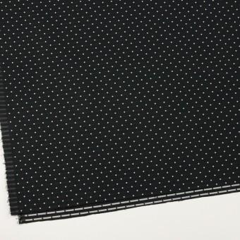 ポリエステル×ドット(ブラック)×形状記憶タフタドビー_全2色 サムネイル2