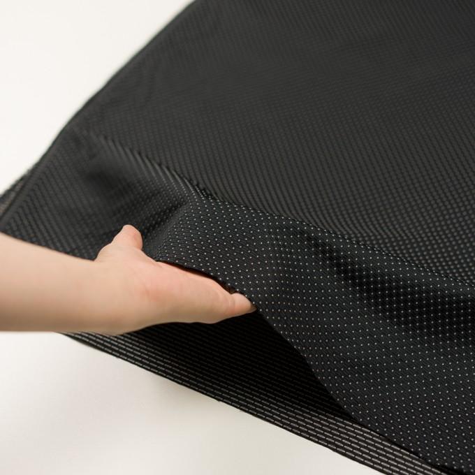 ポリエステル×ドット(ブラック)×形状記憶ジャガード イメージ5