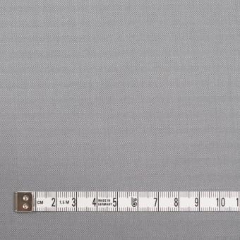 コットン×無地(シルバーグレー)×ヘリンボーン_イタリア製 サムネイル4