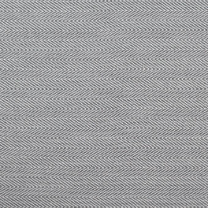 コットン×無地(シルバーグレー)×ヘリンボーン_イタリア製 イメージ1