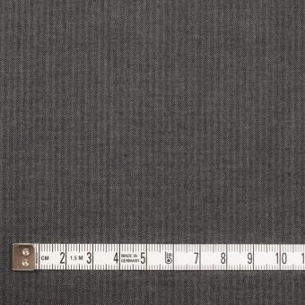 コットン×無地(チャコールグレー)×ヘリンボーン_イタリア製 サムネイル4