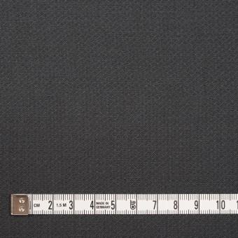 コットン×無地(チャコールグレー)×かわり織_イタリア製 サムネイル4