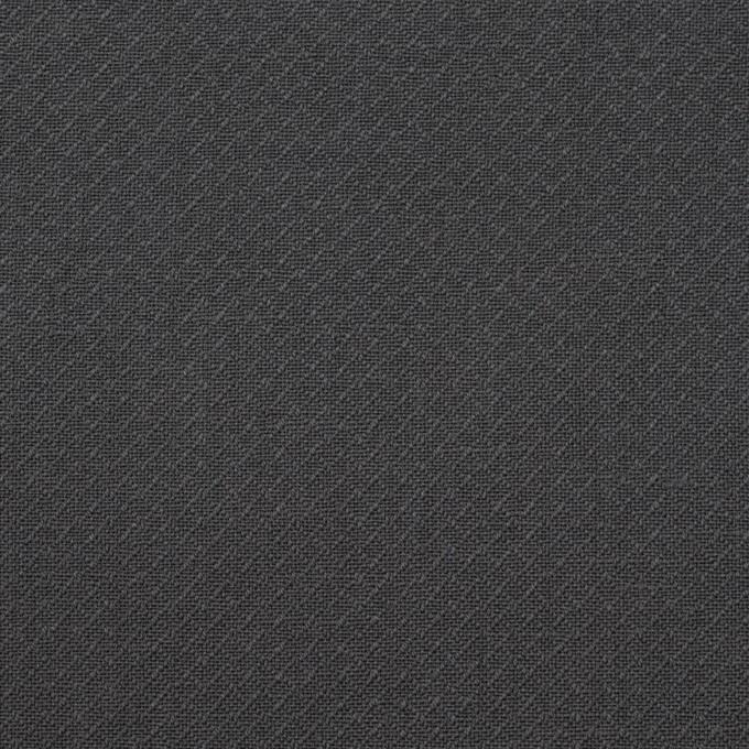 コットン×無地(チャコールグレー)×かわり織_イタリア製 イメージ1