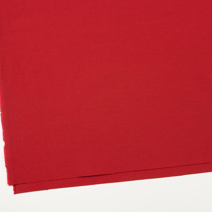ナイロン&コットン×無地(レッド)×タッサーポプリン_全2色 イメージ2