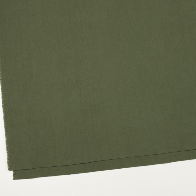 コットン×無地(カーキグリーン)×コードレーン・ワッシャー_全3色 イメージ2