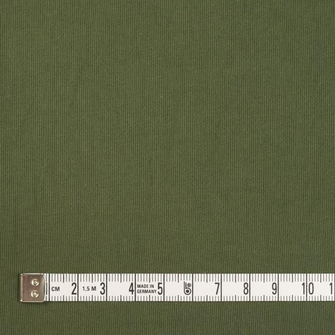 コットン×無地(カーキグリーン)×コードレーン・ワッシャー_全3色 イメージ4