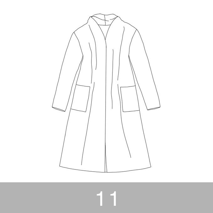 オリジナルパターン#016_ロングカーディガン_11号 イメージ1