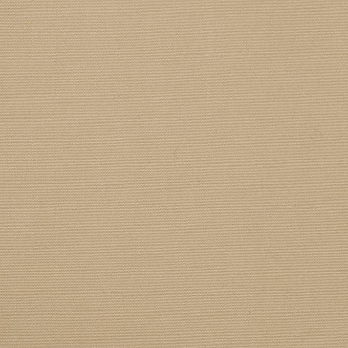 コットン×無地(カーキベージュ)×高密ブロード_全2色 イメージ1
