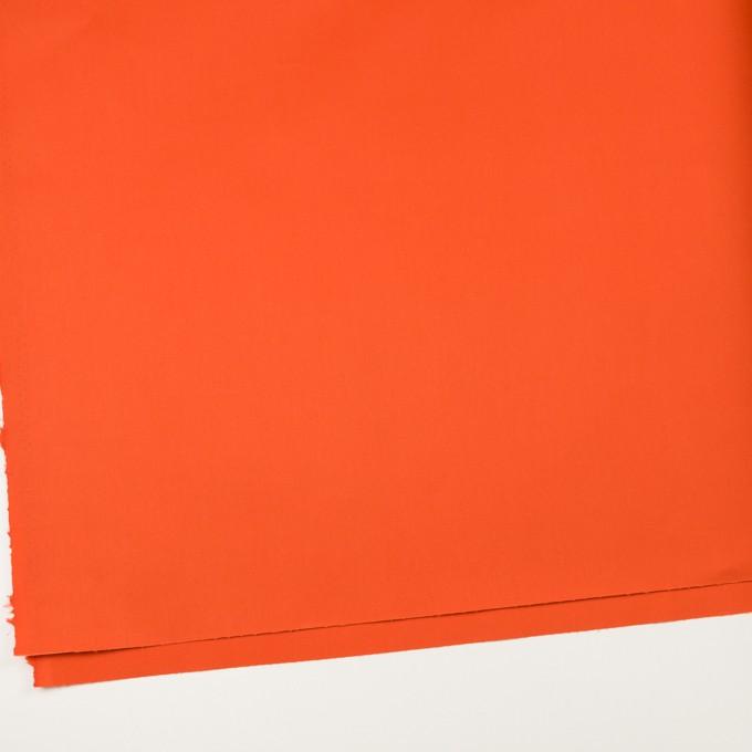 コットン×無地(オレンジ)×ギャバジン(パラフィン加工)_全3色 イメージ2
