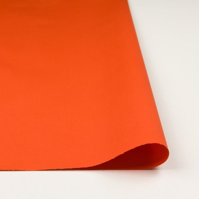 コットン×無地(オレンジ)×ギャバジン(パラフィン加工)_全3色 イメージ3