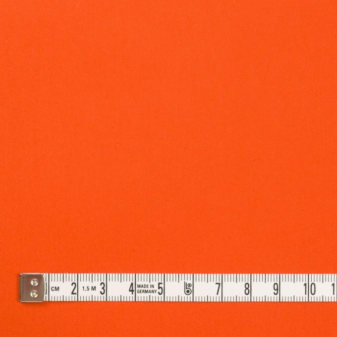 コットン×無地(オレンジ)×ギャバジン(パラフィン加工)_全3色 イメージ4