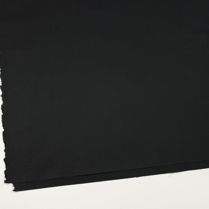 コットン×無地(ブラック)×ギャバジン(パラフィン加工)_全3色 イメージ2