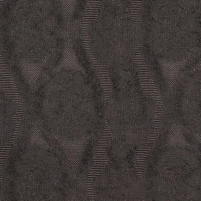ウール&レーヨン×幾何学模様(ストーングレー)×ジャガード_全3色 イメージ1