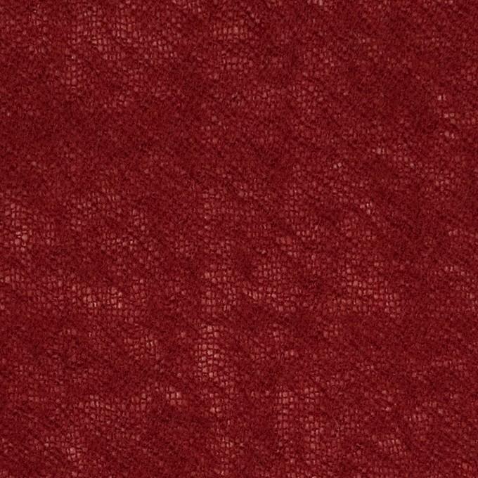 ウール×無地(バーガンディー)×ガーゼ イメージ1